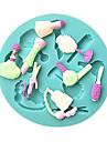 makeup frisörverktyg fondant tårta formar choklad mögel för köket bakning socker kaka dekoration verktyg