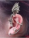 Pentru femei Cătușe pentru urechi - Balaur Personalizat, Punk, European Bronz / Argintiu / gri Pentru Nuntă / Petrecere / Zilnic