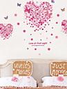 Animale Romantic Florale Perete Postituri Sărbători perete Abțibilduri Autocolante de Perete Decorative, Vinil Pagina de decorare de