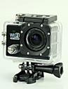 est SJ6000 Caméra d'action / Caméra sport 12MP 1920 x 1080 Wi-Fi Etanches Antichocs Détection de sourire 4X 2 CMOS 32 Go H.264 50 M