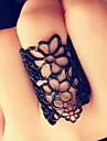 norocos femeie de moda stele decupate flori gros inel stil elegant