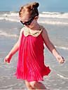 Fata lui Verde / Roz / Roșu Solid Bumbac Vară Verde / Roz / Roșu