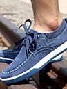 Pantofi barbati Casual Denim Teniși la Modă Albastru / Gri