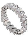 Pentru femei Inele Afirmatoare Iubire bijuterii de lux de Mireasă Pietre sintetice Zirconiu Diamante Artificiale Bijuterii Bijuterii