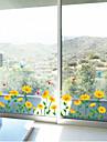 Botanisk Blommig Landskap Väggklistermärken Väggstickers Flygplan Dekrativa Väggstickers Material Kan ompositioneras Hem-dekoration
