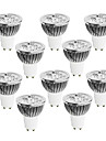 10pcs 4W 400-450 lm GU10 LED Spotlight 4 leds High Power LED Dimmable Warm White Cold White White 220-240