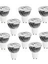 10pcs 4W 400-450 lm GU10 LED-spotlights 4 lysdioder Högeffekts-LED Bimbar Varmvit Kallvit Vit 220-240