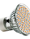3W 250-350 lm GU10 LED-spotlights MR16 60 lysdioder SMD 3528 Varmvit AC 220-240V