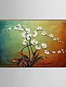 Pictat manual Peisaj / Natură moartă / Floral/BotanicModern Un Panou Canava Hang-pictate pictură în ulei For Pagina de decorare