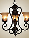 Ecolight™ 3-Light Candelabre Lumini Ambientale - Stil lumânare, 110-120V / 220-240V Becul nu este inclus / 10-15㎡ / E26 / E27