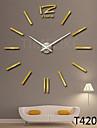 Design vestimentar 3d ceas de perete mare decor acasă ceas DIY