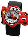 Pentru copii Ceas La Modă Ceas Casual Quartz Ceas Casual Silicon Bandă Charm Negru Albastru Roșu Orange Verde Yellow