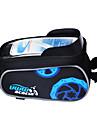 Acacia Väska till cykelramen Mobilväska 5.5 tum Regnsäker Pekskärm Multifunktionell Cykelsport för Samsung Galaxy S6 LG G3 iPhone X