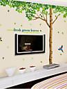 surdimensionne frais salon d\'arbre chambre pvc mur amovible de film transparent autocollants