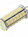 YWXLIGHT® 5W 450-500 lm G4 LED-lampa T 126 lysdioder SMD 3014 Varmvit Kallvit DC 24V AC 24V AC 12V DC 12 V
