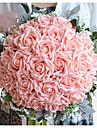 """Flori de Nuntă Buchete Nuntă Poliester Satin Spumă 12.6""""(Approx.32cm)"""