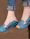 Chaussures Femme - Décontracté - Bleu / Jaune / Rose - Talon Plat - Confort - Mocassins - Similicuir