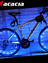 LED Luces para bicicleta Luces para bicicleta Luces Tiltilantes para Tapas de Valvulas luces de la rueda - Ciclismo Color variable Baterias 400 lm USB Bateria Ciclismo - Acacia / IPX-4