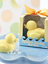 Gummianka bubbelbad tvål baby shower fest nyhet tvål bröllopspresenter