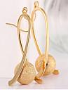 Dame Cercei Picătură costum de bijuterii Placat Auriu Aliaj Picătură Bijuterii Pentru