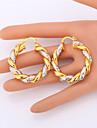 Pentru femei Placat Auriu Set bijuterii Include Σκουλαρίκια Coliere - Două-Tonuri Placat cu platină Placat Auriu Seturi de bijuterii