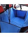 Kat Hond Hoes Voor Autostoel Huisdieren manden Effen draagbaar Vouwbaar Bruin Rood Blauw Voor huisdieren