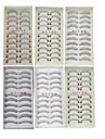 6 Vardagsmakeup Hela ögonfransar Korsvis Tjock Naturligt långa Sminkredskap Hög kvalitet Dagligen 1cm-1.5cm