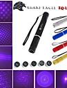 Alliage aluminium - Lampe torche - Stylo Laser Violet