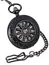 Ανδρικά Ρολόι Τσέπης μηχανικό ρολόι Μηχανικό κούρδισμα 30 m Εσωτερικού Μηχανισμού Αναλογικό Πολυτέλεια - Μαύρο