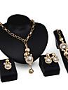 Mujer Otros Conjunto de joyas Anillos / Pendientes / Collare - Regular Para Boda / Fiesta / Ocasion especial
