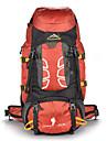 55 L Sac a Dos de Randonnee Escalade Sport de detente Camping & Randonnee Etanche Resistant a la poussiere Vestimentaire Multifonctionnel