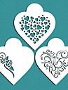 cadou contemporan stencil inimile cookie Îndrăgostiților pentru tort decorare, st-671