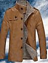 Veste Homme-Couleur Pleine Chic & Moderne Style formel