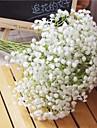 Flori artificiale 6 ramură Pastoral Stil Respirație Copil Față de masă flori