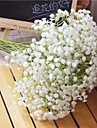 Konstgjorda blommor 6 Gren Pastoral Stil Brudslöja Bordsblomma