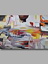 Pictat manual AbstractModern Un Panou Canava Hang-pictate pictură în ulei For Pagina de decorare
