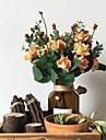 10 cap / buchet ulei de pictura stil tivit buchet de trandafiri buchete decoratiuni interioare