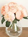 1 ramură Mătase Trandafiri Față de masă flori Flori artificiale