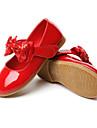 Fete Pantofi Flați Confortabili Imitație de Piele Primăvară Toamnă Nuntă Casual Rochie Party & Seară Confortabili Funde Bandă MagicăToc