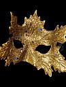 Karnival Mask Unisex Halloween Karnival Festival / högtid Halloweenkostymer Blå Guld Silver Rubinrött Ros