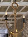 Rustique Lampe suspendue Pour Salle a manger Entee Couloir Ampoule non incluse