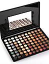 88 farver -jenskygger / Makeupværktøj / Pudder Længerevarende Naturlig Daglig makeup / Rygende makeup Daglig Makeup Kosmetiske