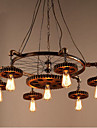 Industrial Lumini pandantiv Iluminare verticală - Stil Minimalist, 110-120V / 220-240V, Alb Cald, Becul nu este inclus / 15-20㎡