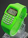 Pentru copii Ceas La Modă Ceas digital Japoneză Quartz Piloane de Menținut Carnea Negru / Albastru / Roșu 30 m LCD Piloane de Menținut Carnea femei Charm - Mov Verde Albastru Un an Durată de Via