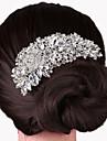 Slitina Vlasy Hřebeny s 1 Svatební / Zvláštní příležitosti Přílba