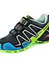 Bărbați Pantofi Sintetic Primăvară Toamnă Noutăți Confortabili Alergare Dantelă pentru Negru Verde Albastru regal