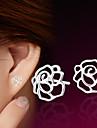 Dame Cercei Stud costum de bijuterii Plastic Flower Shape Bijuterii Pentru Nuntă Petrecere Zilnic Casual Sport