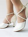 Femme Chaussures Modernes Paillette Brillante / Similicuir Sandale / Talon Paillette / Paillette Brillante / Boucle Talon Personnalise