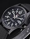 Bărbați Ceas de Mână Ceas Militar  Quartz Material Bandă Negru Alb Maro Verde