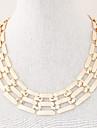 Dame Coliere Choker Lănțișoare Aliaj La modă costum de bijuterii Bijuterii Pentru Petrecere Zilnic Casual